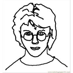 Harry Potter Coloring Pages 1