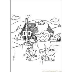 Ice Skating Coloring Pages 7 Com