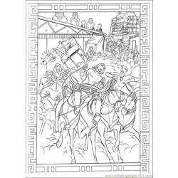 Prince Egypt 04 coloring page
