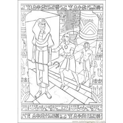 Prince Egypt 05 coloring page