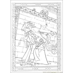 Prince Egypt 07 coloring page