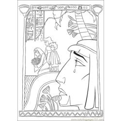 Prince Egypt 11 coloring page