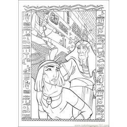 Prince Egypt 12 coloring page