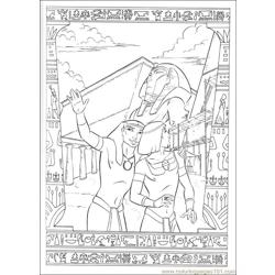 Prince Egypt 13 coloring page