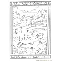 Prince Egypt 15 coloring page