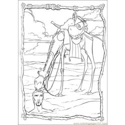 Prince Egypt 16 coloring page