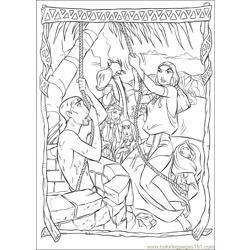 Prince Egypt 18 coloring page