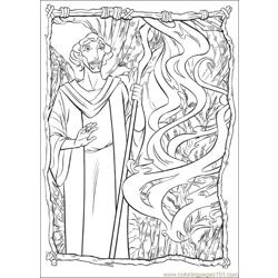 Prince Egypt 20 coloring page