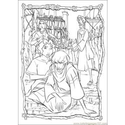 Prince Egypt 23 coloring page
