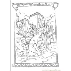 Prince Egypt 24 coloring page