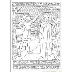 Prince Egypt 27 coloring page