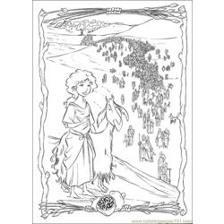 Prince Egypt 29 coloring page