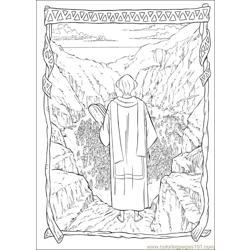 Prince Egypt 32 coloring page