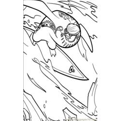 Surfs Up 02 Coloring Pages 7 Com coloring page