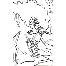Surfs Up 03 Coloring Pages 7 Com