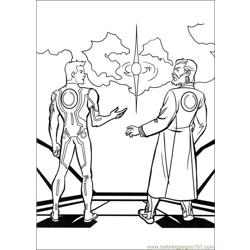 Tron 17 coloring page