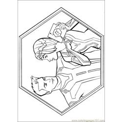 Tron 20 coloring page