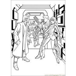 Tron 21 coloring page