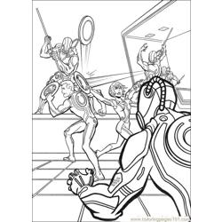 Tron 22 coloring page