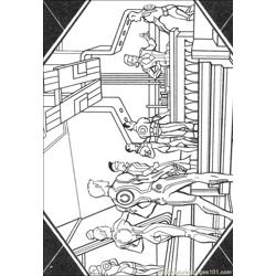 Tron 23 coloring page