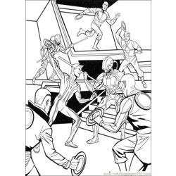 Tron 25 coloring page
