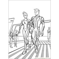 Tron 26 coloring page
