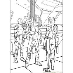 Tron 27 coloring page