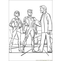 Tron 34 coloring page