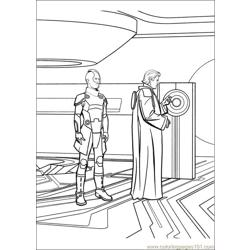 Tron 35 coloring page