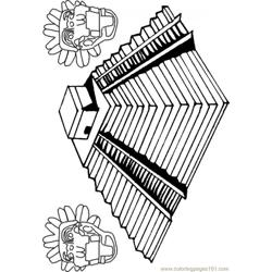 Une Pyramide Inca 85287 Free Coloring Page for Kids