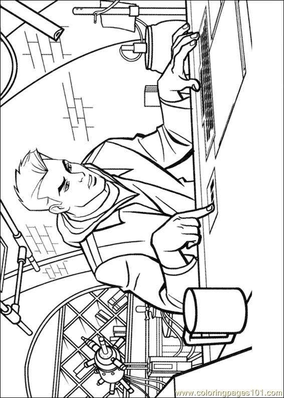 tron coloring pages to print - photo#17