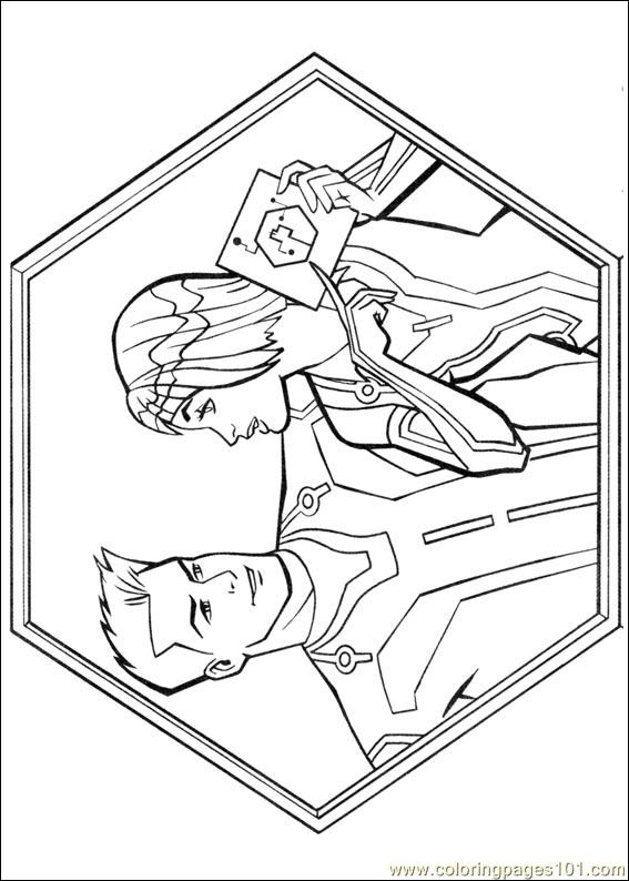 Tron 20 Coloring Page - Free Others Coloring Pages ...