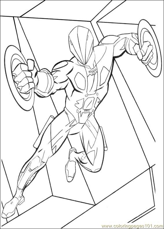Tron 37 Coloring Page