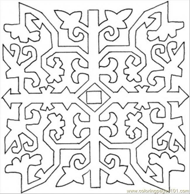 86 Pattern Coloring Page Coloring Page Free Painting Coloring
