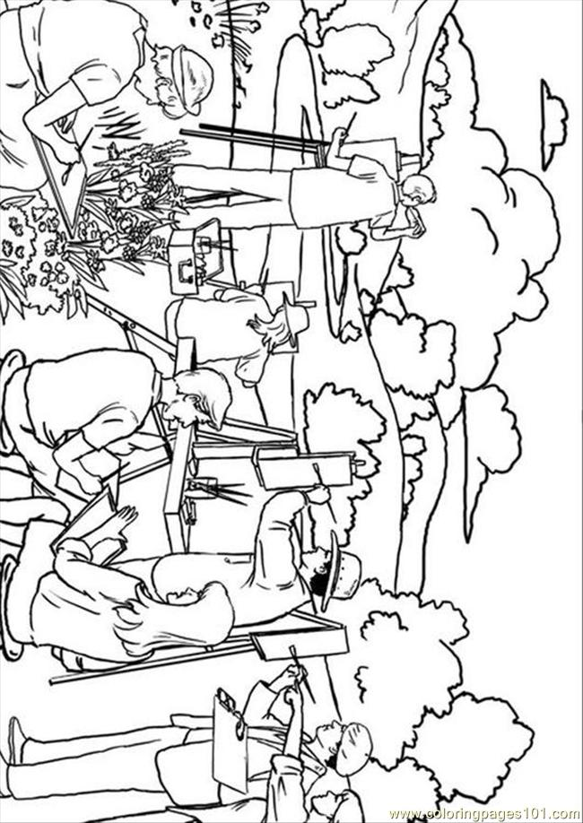 Es Pages Photo Painting P7872 Coloring Page