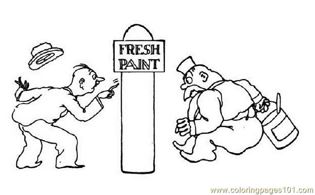 Freshpaint Coloring Page