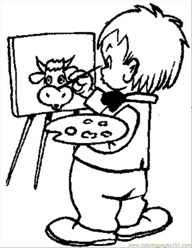 Kids Coloring Pages 105 Coloring Page