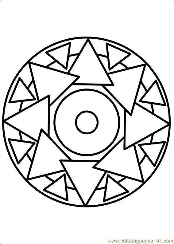 Mandala 69 Coloring Page Free Painting Coloring Pages