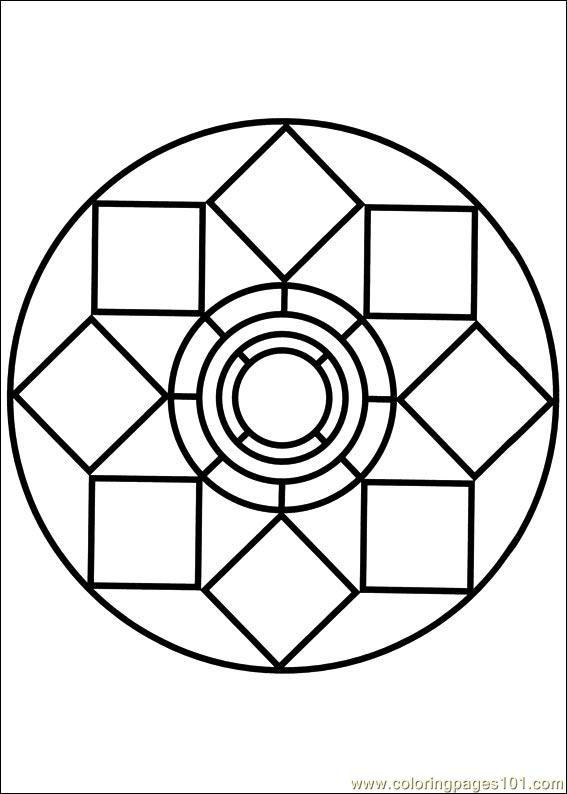 Mandala 79 Coloring Page - Free Painting Coloring Pages ...