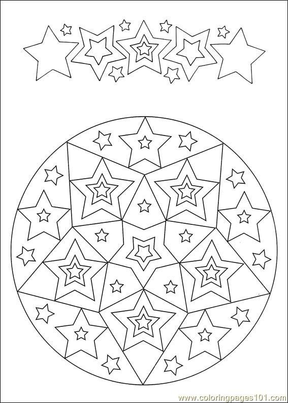 Mandalas 031 Coloring Page Free Painting Coloring Pages