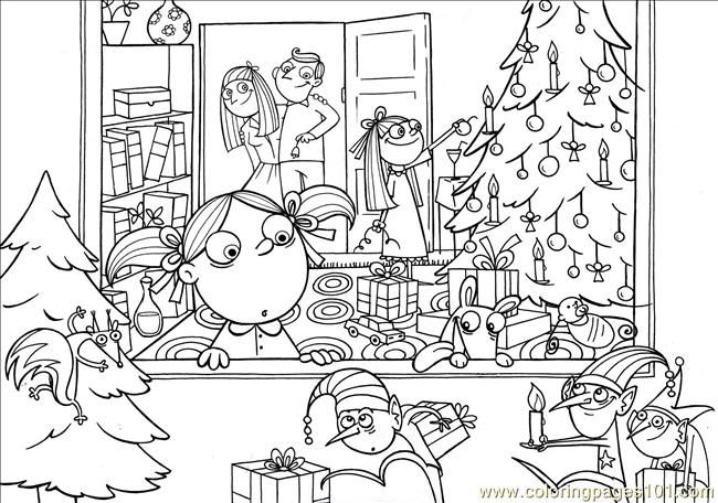 Ree Coloring Pages Xmas The Coloring Page