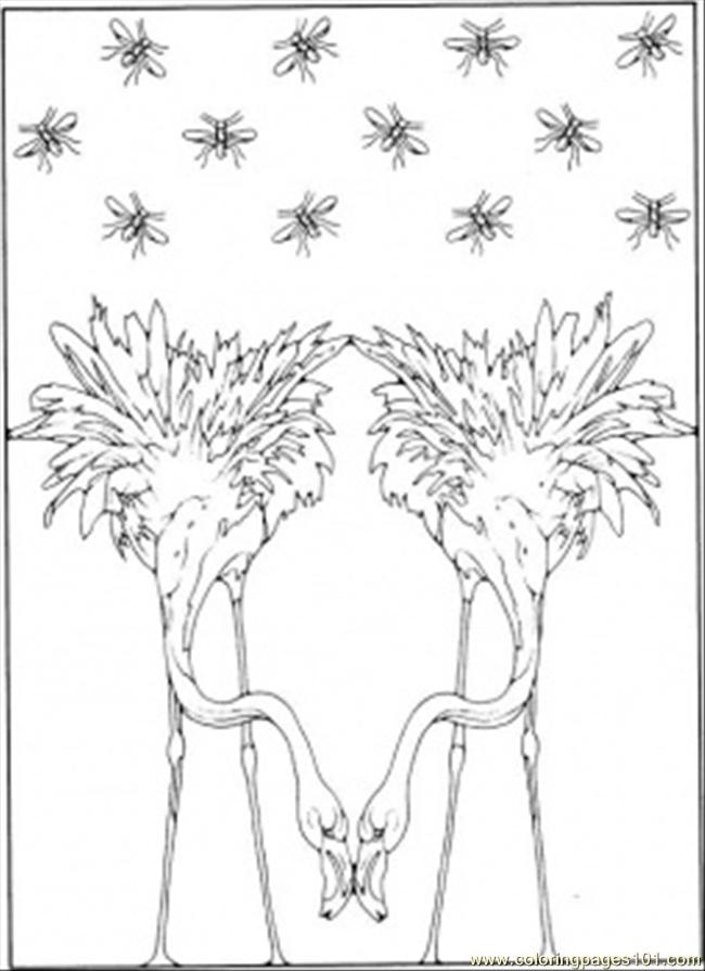 surrealism coloring page