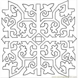 86 Pattern Coloring Page