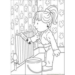 94 Ndy Is Painting Coloring Page