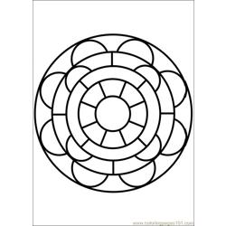 Mandala 55 Coloring Page Free Painting Coloring Pages