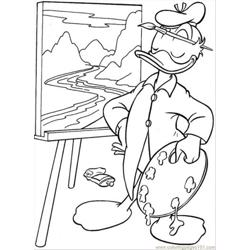 Painting Coloring Page