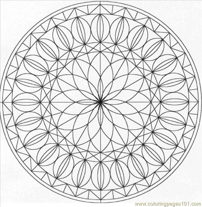 Pattern2 Coloring Page