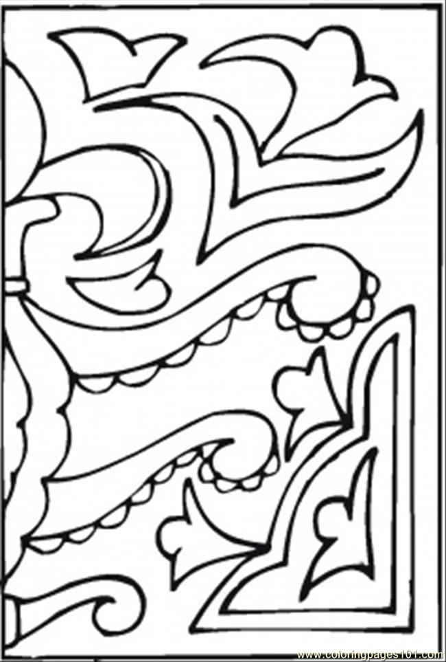 Another Ornament Coloring Page