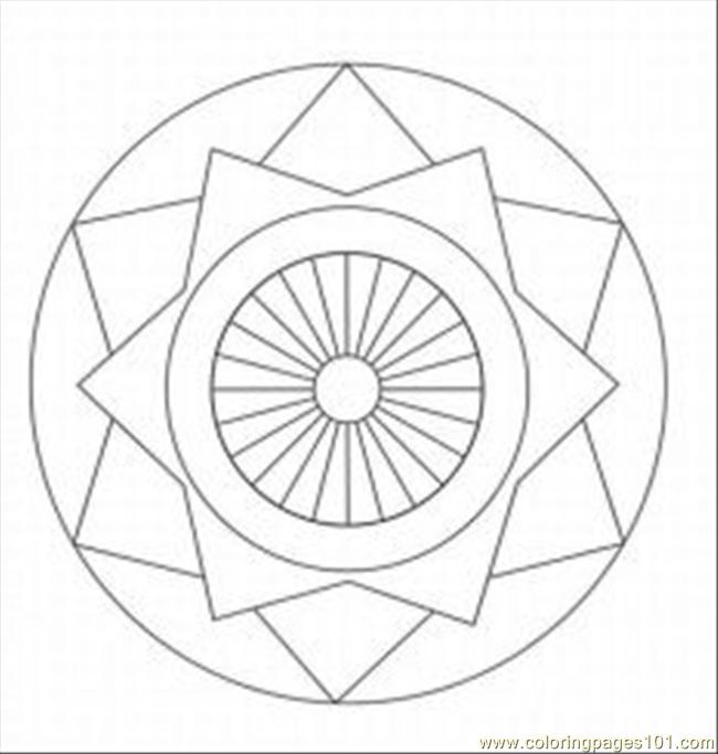 Cate Patterns And Designs Med Coloring Page