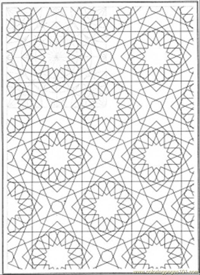 Connect The Circles Coloring Page